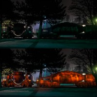 Mit LIveComposite aufgenommenes Lightpaining