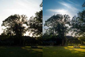 Illustration Kamera-JPEG vers. interpretiertes RAW