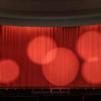 Foto eines Kinosaals