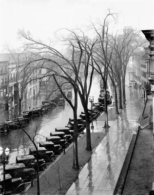 Walker Evans, Main Street, Saratoga Springs, New York, 1931