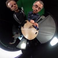 """Ein """"Little Planet"""" im Studio von FotoTV"""