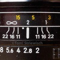 Schärfentiefeskala Nikon