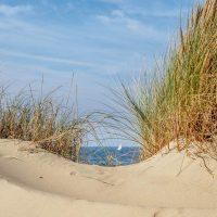 Typisches Motiv für Urlaubsfotos - Dünen