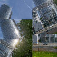 Mit Teilaufnahmen, die man zu einem Bild zusammensetzt, kann man für Architekturfotos einen starken Weitwinkel ersetzen.