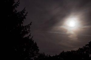 """Illustration zu """"Der Mond ist zu hell"""""""