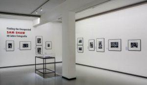 Illustration Fotoausstellung Sam Shaw in Oberhausen
