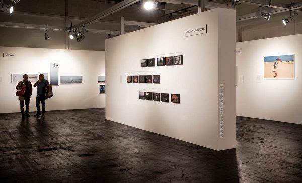 """Illustration zu: """"Ausstellung am Messestand von Fuji"""""""
