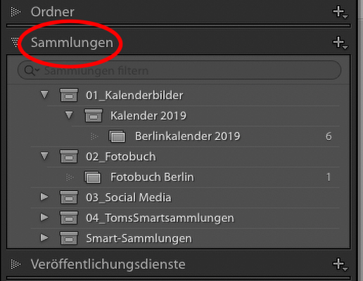 "Illustration zu ""Sammlungen in Lightroom"""