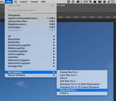 """Illustration zu """"In Photoshop Silver efex Pro 2 starten"""""""