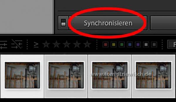 """Illustration zu: """"Lightroom Entwicklungseinstellungen synchronisieren"""""""