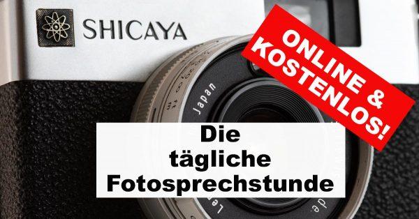 """Illustration zu: """"Fotosprechstunde -online - kostenlos - täglich"""""""