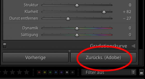 "Illustration zu ""Lightroom Zurücks. (Adobe)"""