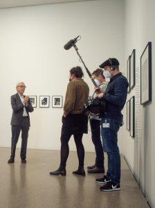 Tim Rautert in seiner Ausstellung im Museum Folkwang in Essen